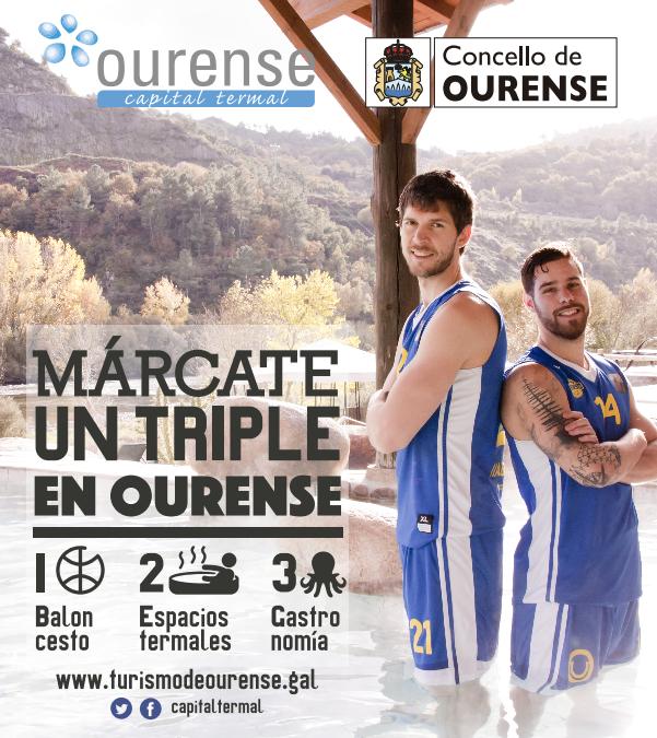 Márcate un triple en Ourense Galicia