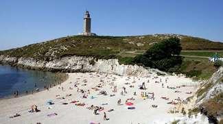 Playa de Las Lapas A Coruña