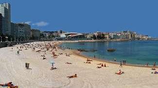 Playa de Riazor A Coruña