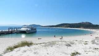 Ferry a Islas Cíes en Galicia